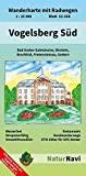 Vogelsberg Süd: Wanderkarte mit Radwegen, Blatt 52-558, 1 : 25 000, Bad Soden-Salmünster, Birstein, Brachttal, Freiensteinau, Gedern (NaturNavi Wanderkarte mit Radwegen 1:25 000)