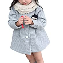 Abrigos Bebé,Dragon868 Niños encantadores niña arco solo sostenes abrigos