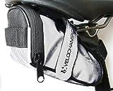 VeloChampion - Slick Pratico borsello sottosella Seatpack - Bianco