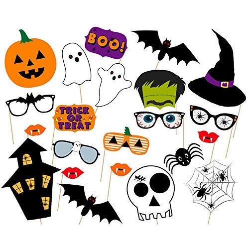 to-Requisiten-Set für Halloween-Partys, 22-teilig ()