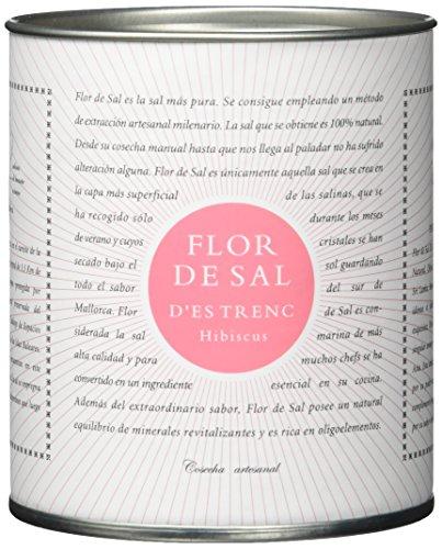 Preisvergleich Produktbild Gusto Mundial Flor de Sal Hibiscus - Bio -,  Meersalz mit Hibiskusblüte 1er Pack (1 x 150 g)