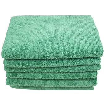 DeRoyal M12200G toallas de microfibra, 30,48 cm x 30,48 cm, 12 piezas