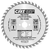 CMT Orange Tools Kreissägeblatt Feinschnitt HW 160 x 2,6/1,6 x 20 Z=40 15° ATB - 292.160.40H - für Querschnitte