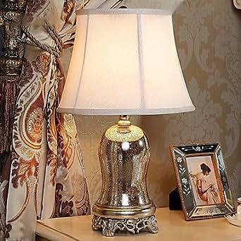 LOCO Moderne et minimaliste Miroir Lampe de table Vaste
