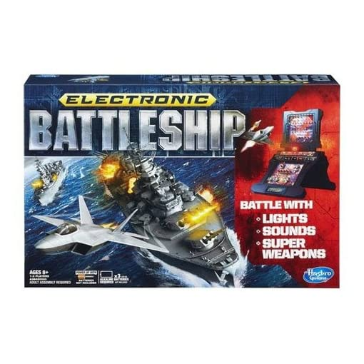 Hasbro-Brettspiel-Battleship-Elektronisch