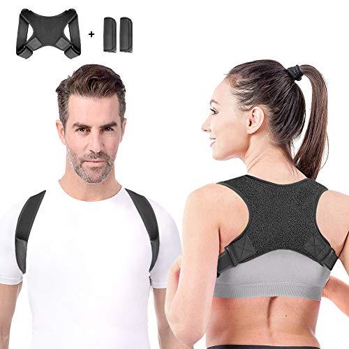 Anoopsyche Haltungskorrektur Geradehalter Schulter Rückenstütze Verstellbare für eine Gesunde Haltung,ideal zur Therapie für haltungsbedingte Nacken,Rücken und Schulterschmerzen für Damen und Herren