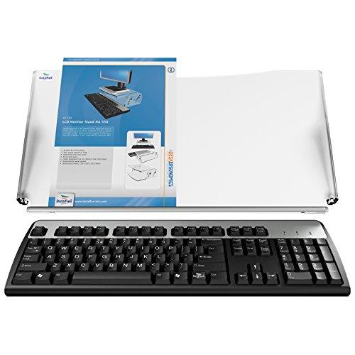 Dataflex Portadocumentos altura ajustable ErgoDoc® - Archivador (Transparente, 563 mm, 269 mm, 204 mm, 5 mm, 1,22 kg)