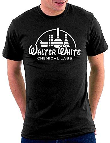 Jesse Pinkman Kostüm - Breaking Bad Walter White Labs T-shirt, Größe XL, Schwarz