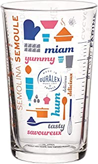 DURALEX Lyon – Tazza di misurazione precisa, 56 CL