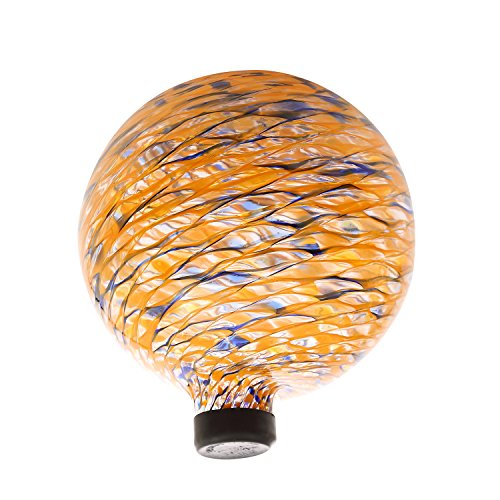 Gazing Ball (Colorful Glas Gazing Ball 25,4cm Orange)