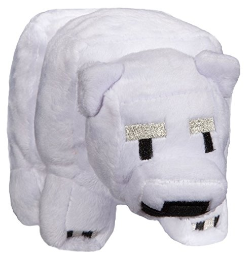 Baby Polar Bear Plush - Minecraft - 18cm 7""