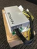 Bitcoin Miners Antminer S9 L3 D3 alimentazione APW3++ PSU in magazzino spedizione rapida 1200 W @ 110 V...