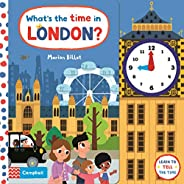 What's the Time in London?: A Tell-the-time Clock