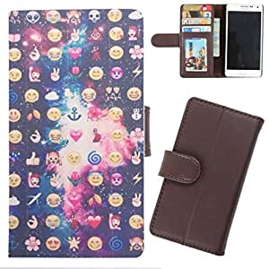 DooDa - For HTC Desire V / Desire X PU Leather Designer Fashionable Fancy Wallet Flip Case Cover Pouch With Card, ID & Cash Slots And Smooth Inner Velvet With Strong Magnetic Lock