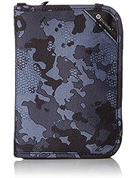 Pacsafe Rfidsafe V150Antivol RFID Compact Passport Wallet, gris Camo