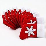 Topways® Confezione 12 di Natale della decorazione della Tabella dei...