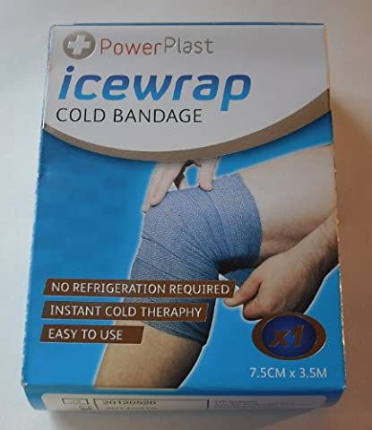 PowerPlast Icewrap Cold Bandage 7.5cm x 3.5m - 1 single by Power Plast