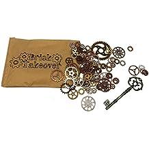 50x Steampunk Zahnräder Gothic Charms aus Metall - freie Farbwahl (gemischt)