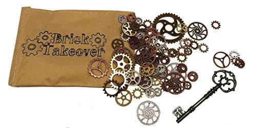 50x-ingranaggi-di-steampunk-mescolare