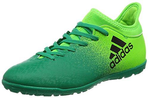 adidas X 16.3 Tf J, Chaussures de Football Entrainement Mixte Enfant green