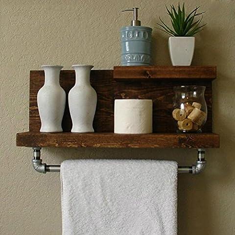 Dessins Anciens - LOFT Style Porte-serviettes à poser au mur