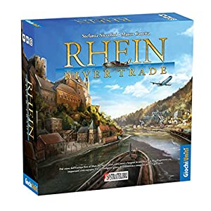 Giochi Uniti gu224-Rhein River Trade Juegos de Mesa