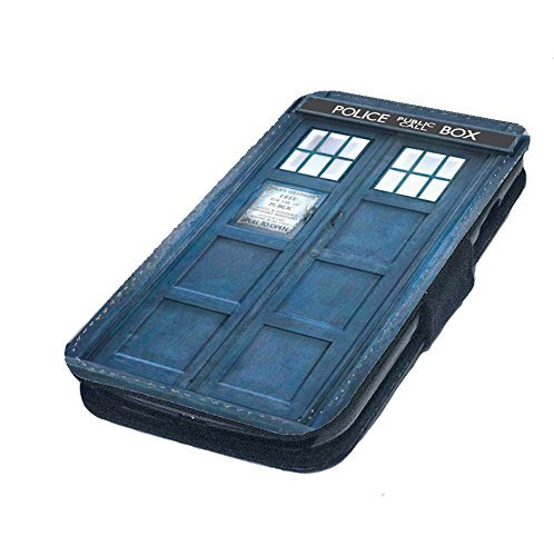 Doctor Who TARDIS Leather Flip iPhone Case
