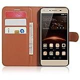 SMTR Huawei Y5II / Huawei Y5 2 Coque PU Cuir Flip Housse Étui Cover Case Wallet...