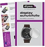 dipos I 6X Schutzfolie klar passend für Garmin vivomove HR Folie Bildschirmschutzfolie