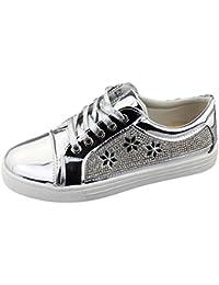 katt_brand - Zapatillas para mujer, color negro, talla 39