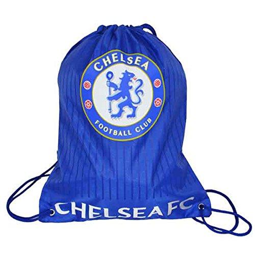 Beutel, Tasche, Turnbeutel mit Kordelzug, Fußball Team, schwimmen (verschiedene Vereine zur Auswahl) Chelsea FC