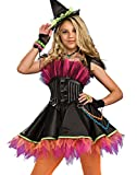 Rubies Punk Rock 80s Goth Witch Costume Standard