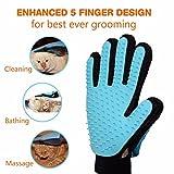 Best Dog Brush For Sheddings - FWQPRA Dog Gloves Deshedding Gentle Efficient Pet Cat Review