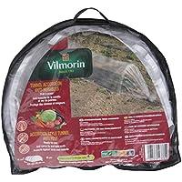 Vilmorin VA04116-Túnel invernadero antimosquitos, forma de acordeón, película de polietileno (80mm, 65x45x400cm)