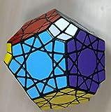 VIWIV Cinco Lados Dodecaedro El Cubo De Rubik 5x5x12 Puzzle Cubo Toy Negro Descompresión Rompecabezas