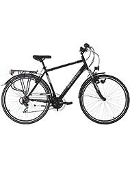 KS Cycling Herren Trekkingrad Montreal RH 53 cm Fahrrad, Schwarz, 28