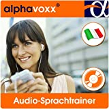 alphavoxx Italienisch Basis 1 + 2 - Audio-Sprachtrainer mit Vokabeln, Sätzen und Redewendungen für MP3-Player inkl. Textsprachtrainer