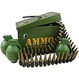 Kombat Kids Army Grenade & Bullet Belt Play set