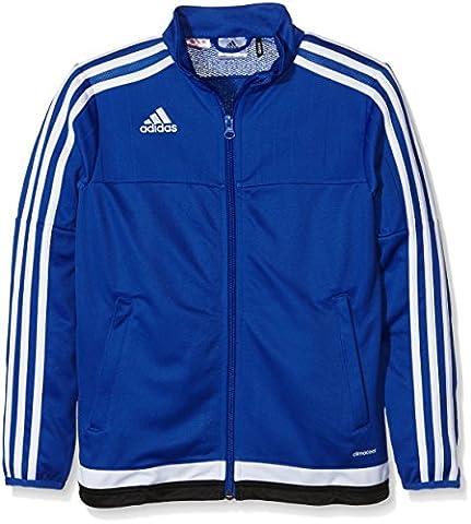 adidas Kinder Jacke/Anoraks Tiro15 Trg Jk Y, bold blau/Weiß/schwarz, 164, S22329