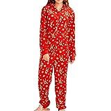 Fangcheng Famiglia Natale Pigiama Rosso Tuta con Cappuccio Homewear Corrispondenza Abiti Mamma papà Figlia Figlio Vestiti Famiglia Set Coordinati