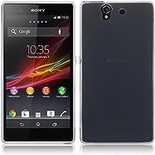 TBOC® Funda de Gel TPU Transparente para Sony Xperia Z L36h de Silicona Ultrafina y Flexible