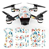 #7: Voberry Unisex-Child Waterproof Decal Skins Wrap Sticker Body Protector for DJI Spark Mini Drone One Size G