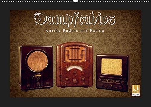 Dampfradios - Antike Radios mit Patina (Wandkalender 2019 DIN A2 quer): Eine bunte Mischung alter Rundfunk-Schätzchen (Monatskalender, 14 Seiten ) (CALVENDO Technologie)