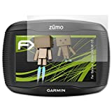 atFoliX Displayschutz für Garmin Zumo 340LM CE Spiegelfolie - FX-Mirror Folie mit Spiegeleffekt