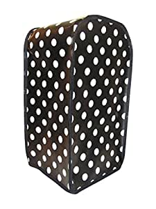 Black & White Polka PVC Russell Hobbs Food Processor Cover by Kitsch 'N Crafts