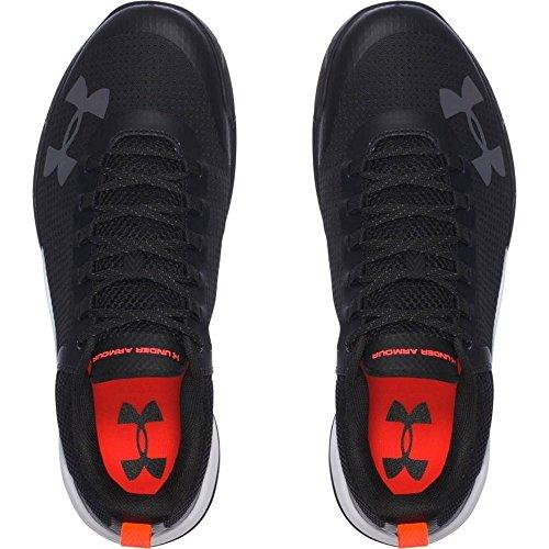 Under Armour Charged Legend TR Hommes - Chaussures de Course - Noir noir/rouge