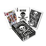 Bicycle 020333 - Skull Kartenspiel