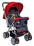 Little Pumpkin - Kiddie Kingdom Baby Stroller - Pram (Red)