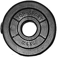 5432 Christopeit Vynil Hantelscheiben Set 8 x 0,5kg Gewichte 4 kg