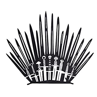 Game of Thrones Decor Bathroom Wall Stickers Iron Throne Decal Stick Home Decoration